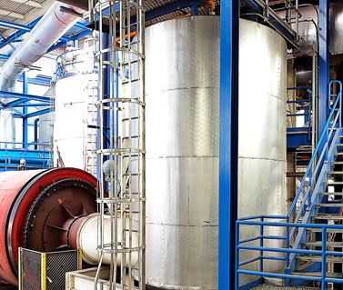 NEFCO| Biosolids Processing Facility-Material Handling